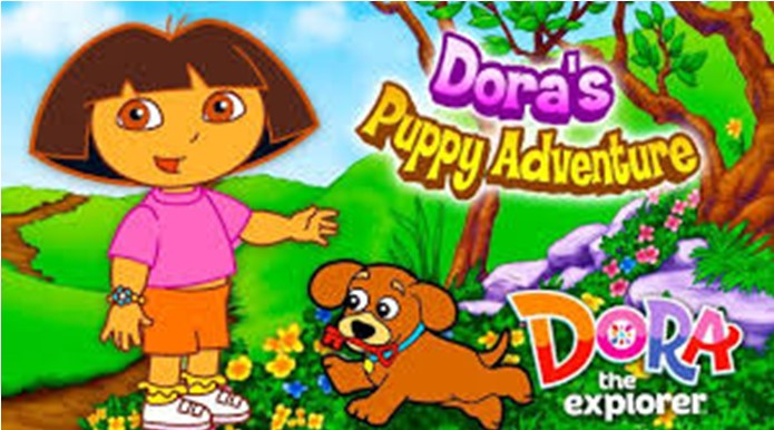 Play Free Online Dora's Puppy Adoption Game